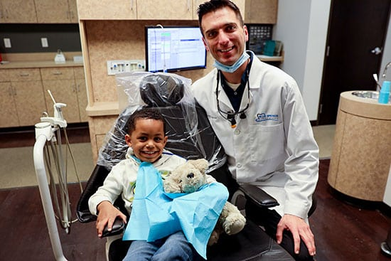 Children's dentistry in our office in Colorado Springs